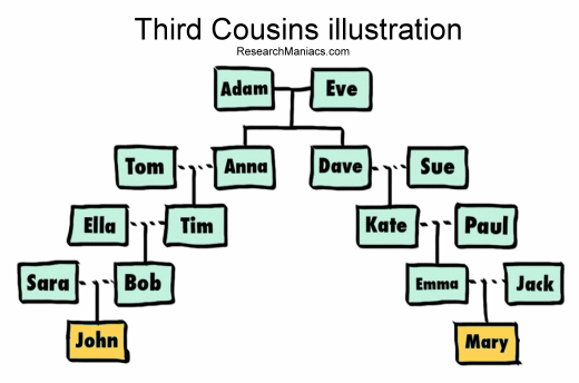 Third cousins dating