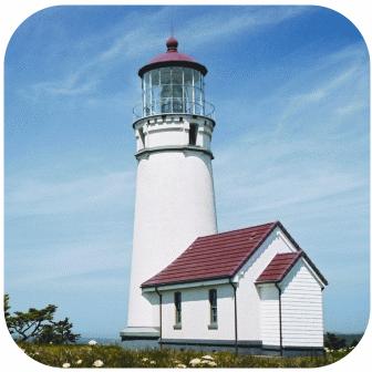 Lighthouses In Oregon Map.Oregon Lighthouses Oregon Coast Lighthouses