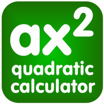 Quadratic Equation Calculator iPhone and iPad App
