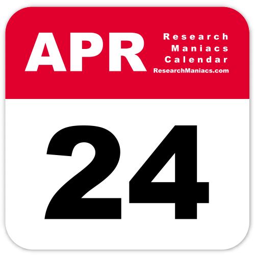 Information about April 24
