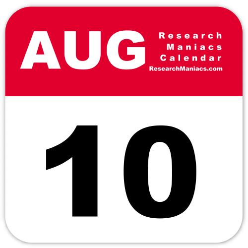 The August 10th T-Shirt – TShirts for a Year  |10 August