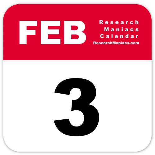 Image result for february 3rd calendar