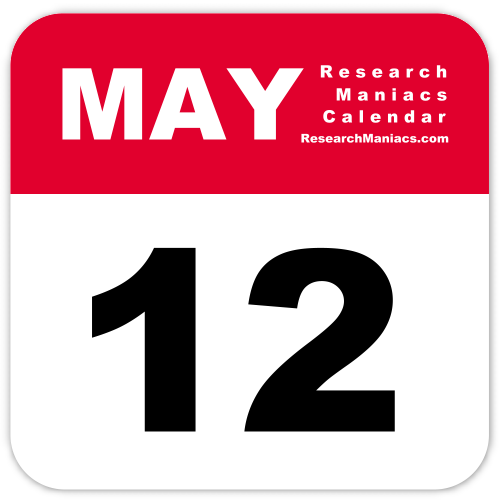 Welcome to Research Maniacs' page about May 12.