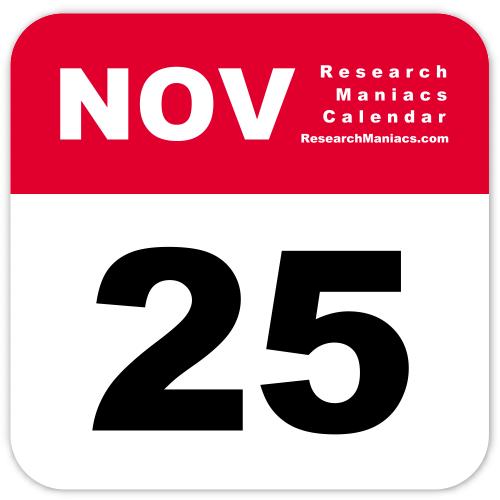 Information about November 25