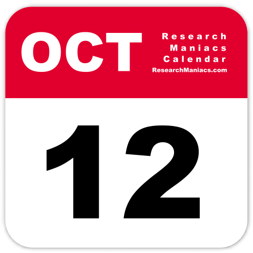 You can use Research Maniacs' October 12 calendar icon used on this page on  your webpage and blog under certain conditions: You ...