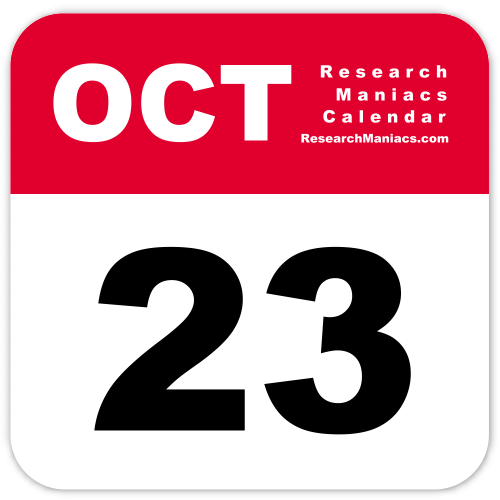October 23 2017 Calendar