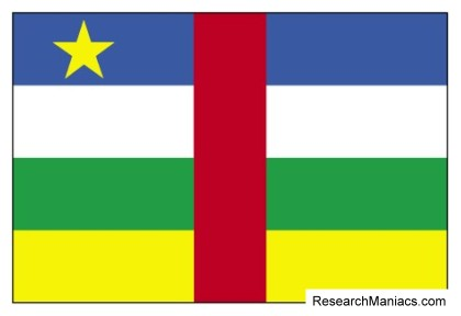 central african republic flag what does the central african republic flag look like mean and represent