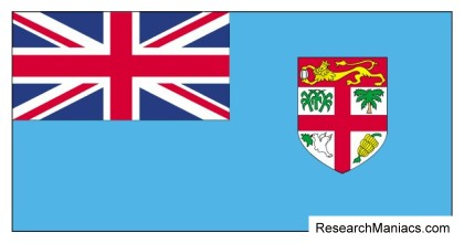 Fiji flag What does the Fiji flag look like mean and represent