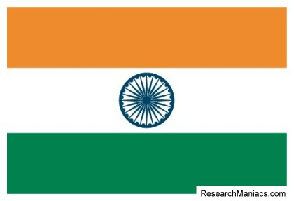 India flag. What does the India flag look like, mean, and ...