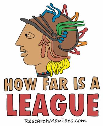 How far were the league of