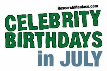 Famous People's Birthdays, Today, United Kingdom Celebrity ...