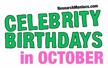 Celebrity Birthdays In November