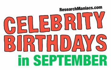 Today's top celebrity birthdays list for September 14 ...