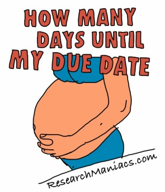 How Many Days Until My Due Date?