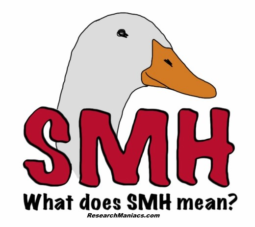 What does smh stand for in texting