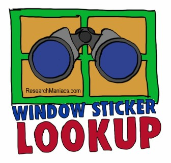 VIN number Lookup to get Windows Sticker