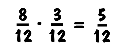 How To Subtract Fractions