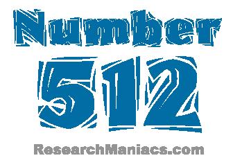 Number 512 - All about number five hundred twelve