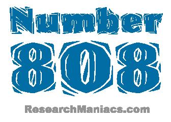Number 808