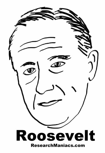 Drawing Of Easy To Draw Franklin D Roosevelt Sketch ...