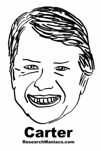 Jimmy carter coloring page sketch coloring page for Jimmy carter coloring page