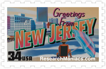 Greetings From New Jersey Stamp