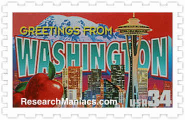 Greetings From Washington Stamp