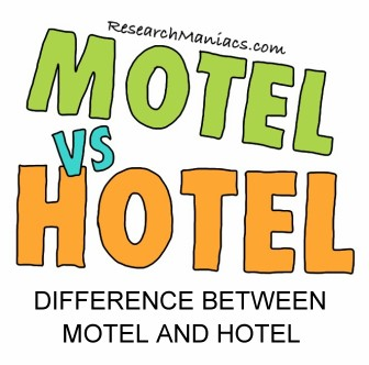 Difference Between Hotel Motel And Restaurant